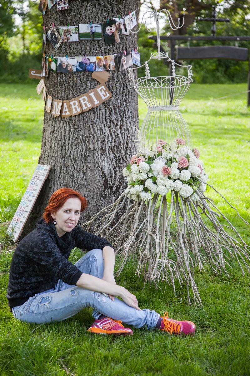 Poza, foto cu Flori de nunta bust, decor colt photo in Arad, Timisoara, Oradea (wedding flowers, bouquets) nunta Arad, Timisoara, Oradea