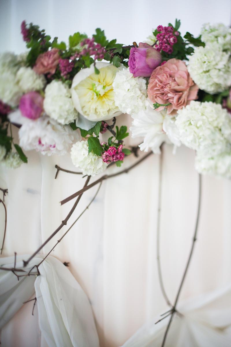 Poza, foto cu Flori de nunta detaliu, prezidiu in Arad, Timisoara, Oradea (wedding flowers, bouquets) nunta Arad, Timisoara, Oradea
