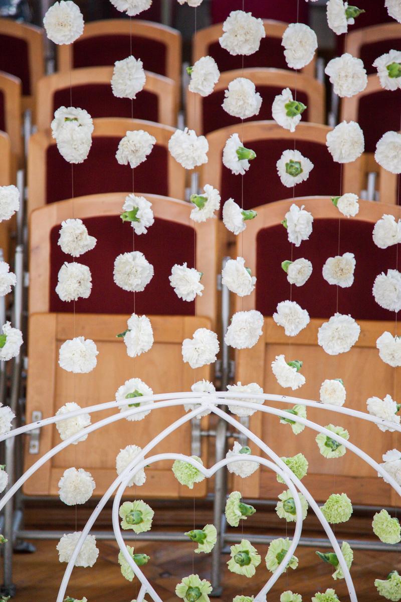 Poza, foto cu Flori de nunta perdea flori in Arad, Timisoara, Oradea (wedding flowers, bouquets) nunta Arad, Timisoara, Oradea