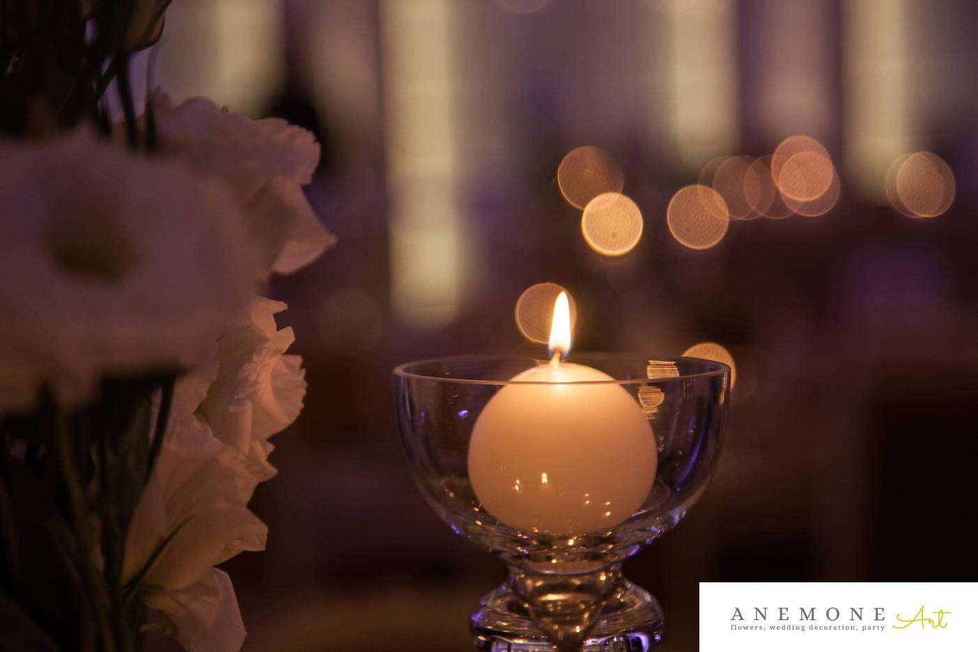 Poza, foto cu Flori de nunta lumanare in Arad, Timisoara, Oradea (wedding flowers, bouquets) nunta Arad, Timisoara, Oradea