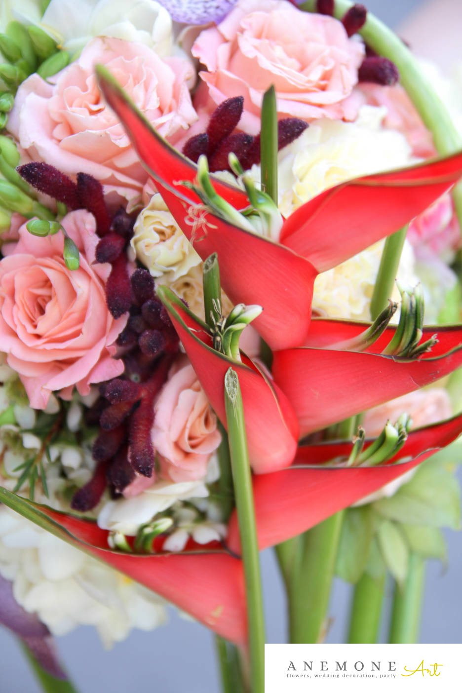 Poza, foto cu Flori de nunta buchet mireasa, calla, curgator, frezii, gipsofila, lacramioare, lisianthus, multicolor, orhidee, ornitogallum in Arad, Timisoara, Oradea (wedding flowers, bouquets) nunta Arad, Timisoara, Oradea