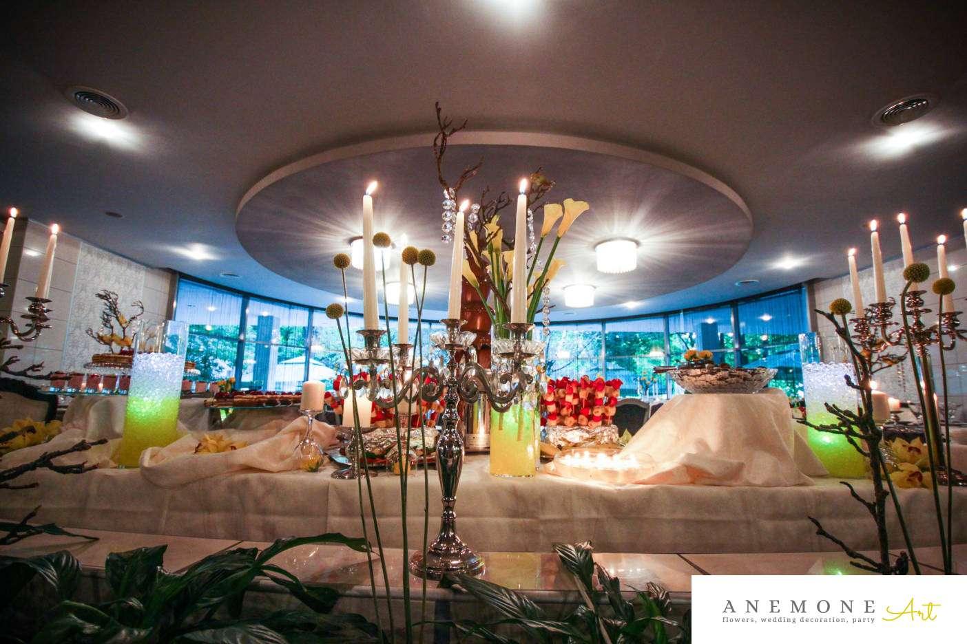 Poza, foto cu Flori de nunta calla, decor candy bar in Arad, Timisoara, Oradea (wedding flowers, bouquets) nunta Arad, Timisoara, Oradea
