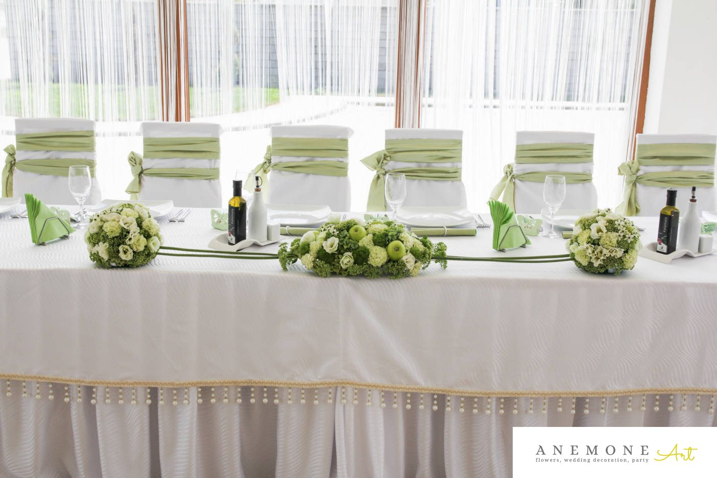 Poza, foto cu Flori de nunta lisianthus, prezidiu in Arad, Timisoara, Oradea (wedding flowers, bouquets) nunta Arad, Timisoara, Oradea