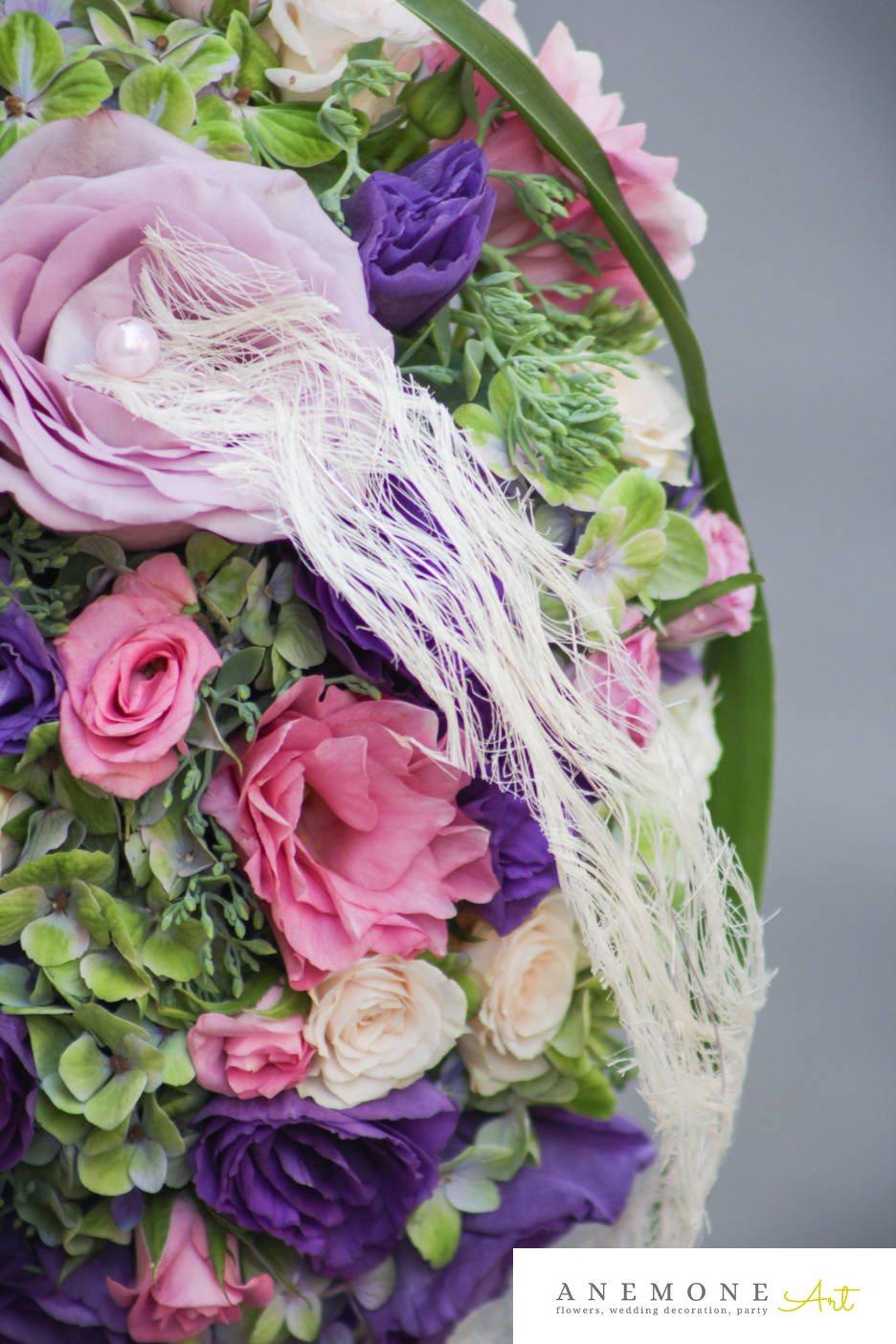 Poza, foto cu Flori de nunta lumanare cununie, mini-rosa, multicolor, perle, trandafiri in Arad, Timisoara, Oradea (wedding flowers, bouquets) nunta Arad, Timisoara, Oradea