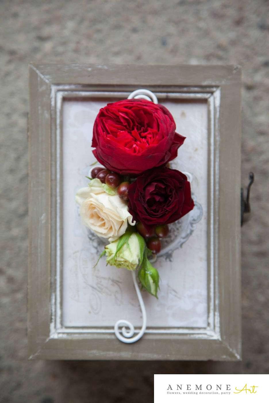 Poza, foto cu Flori de nunta cocarda, rosu, trandafiri, visiniu in Arad, Timisoara, Oradea (wedding flowers, bouquets) nunta Arad, Timisoara, Oradea