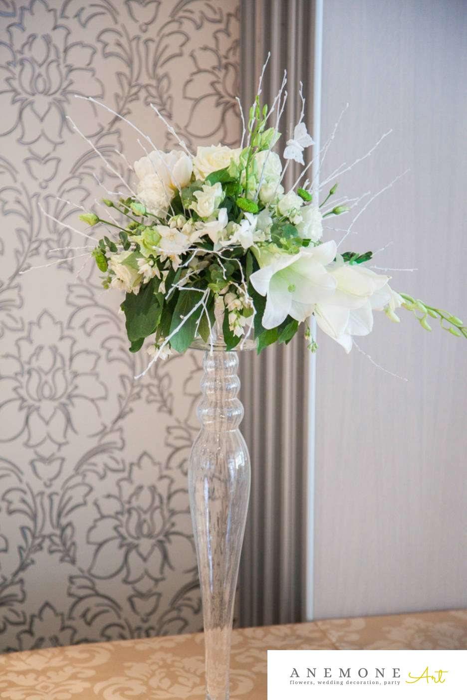 Poza, foto cu Flori de nunta decor masa, decor sala, hotel continental, lalele, orhidee in Arad, Timisoara, Oradea (wedding flowers, bouquets) nunta Arad, Timisoara, Oradea