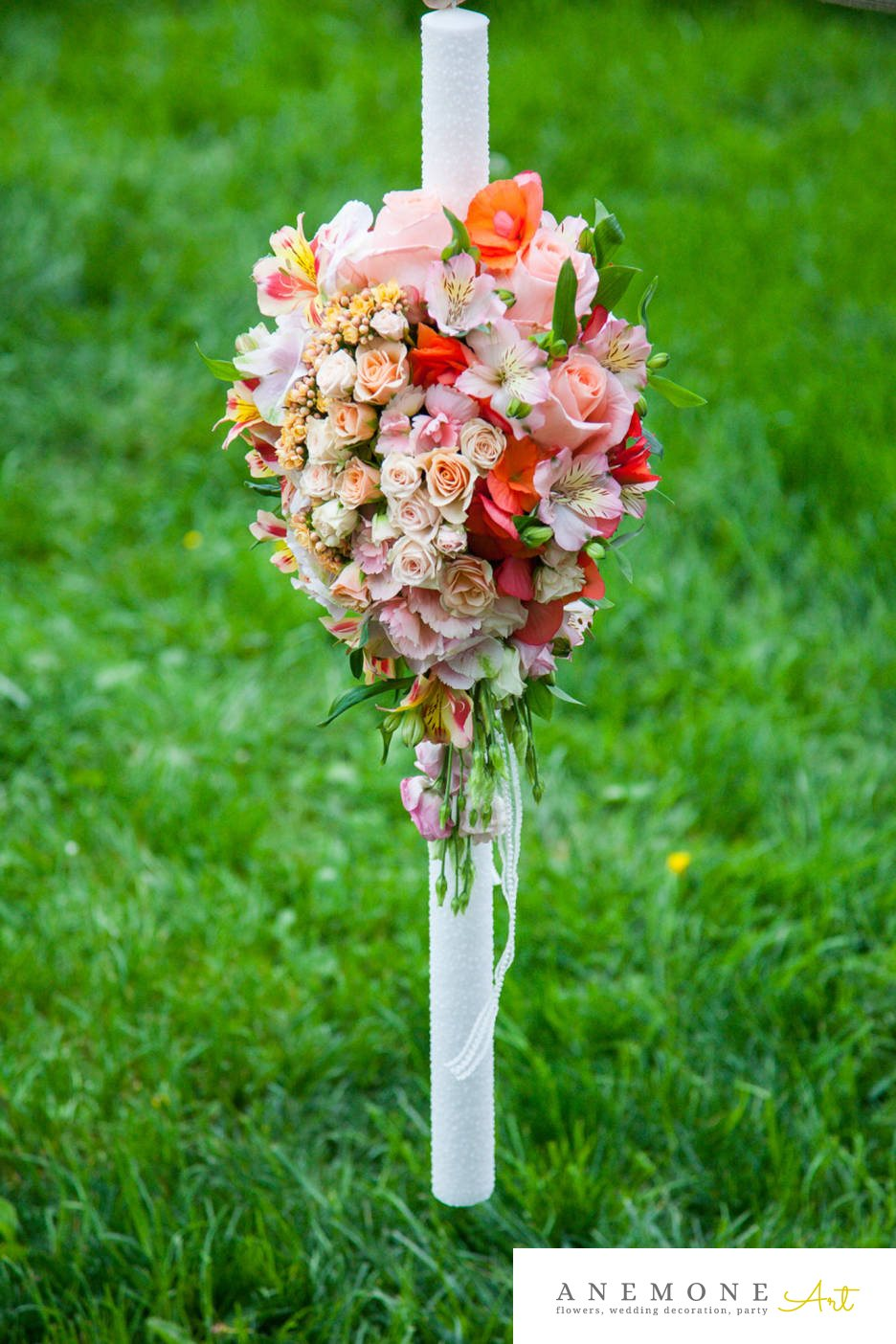 Poza, foto cu Flori de nunta alstroemeria, lumanare cununie, mini-rosa, multicolor, trandafiri in Arad, Timisoara, Oradea (wedding flowers, bouquets) nunta Arad, Timisoara, Oradea
