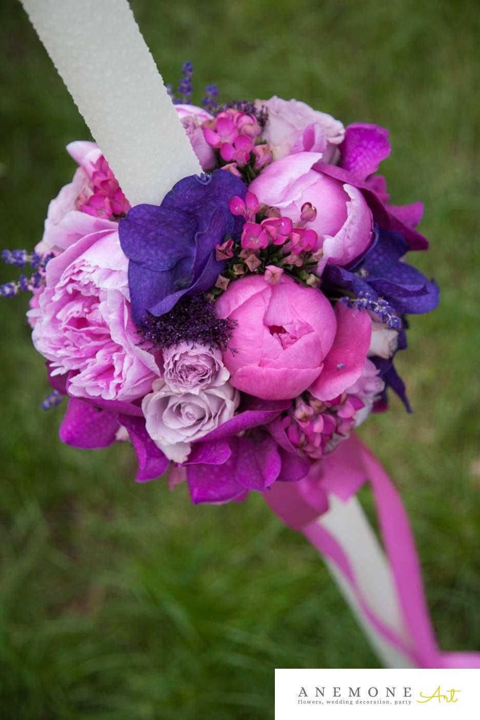Poza, foto cu Flori de nunta bujori, lumanare cununie, mini-rosa, mov, orhidee, roz, trandafiri in Arad, Timisoara, Oradea (wedding flowers, bouquets) nunta Arad, Timisoara, Oradea