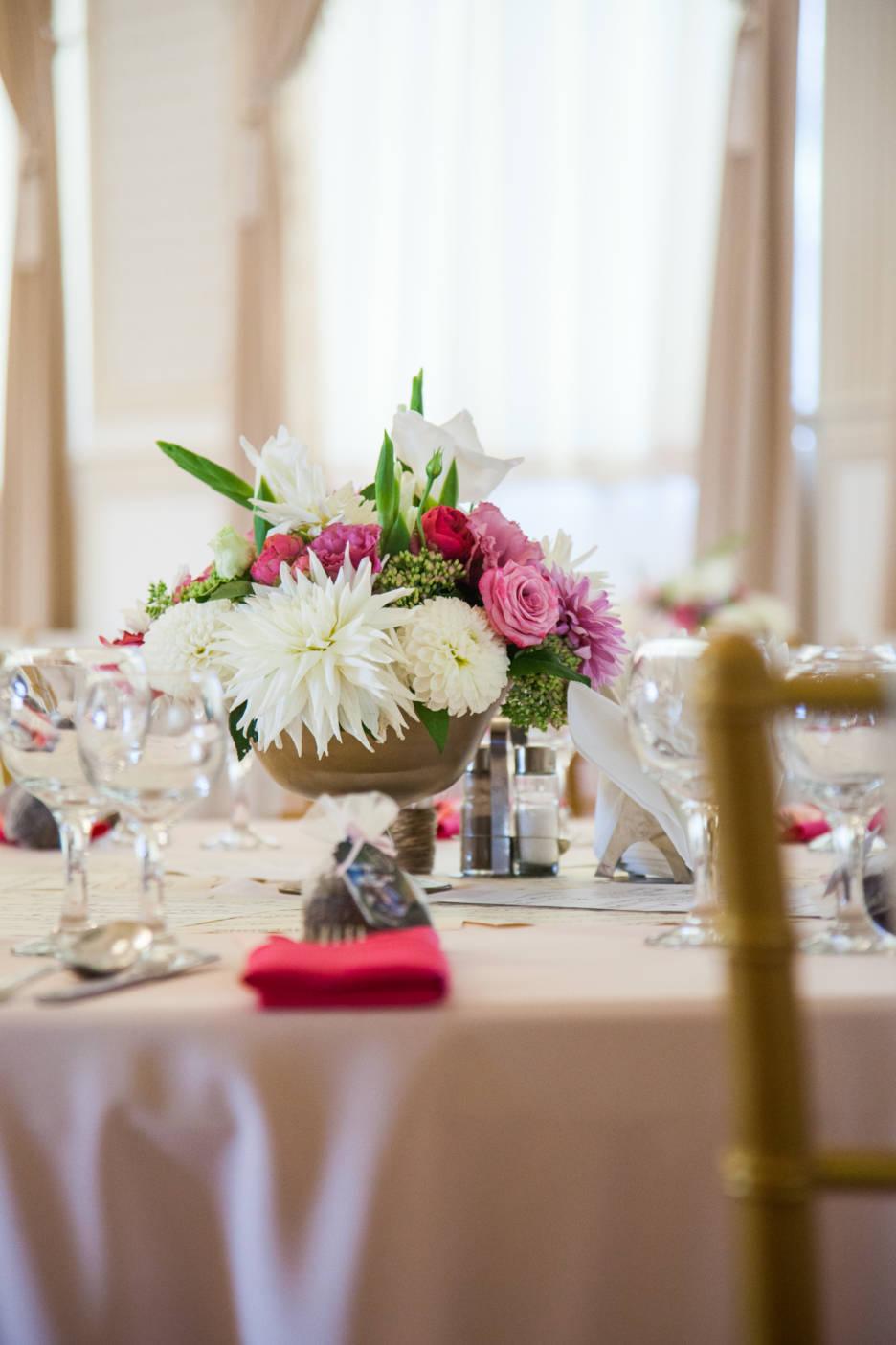 Poza, foto cu Flori de nunta castel domeniul lupas, decor masa in Arad, Timisoara, Oradea (wedding flowers, bouquets) nunta Arad