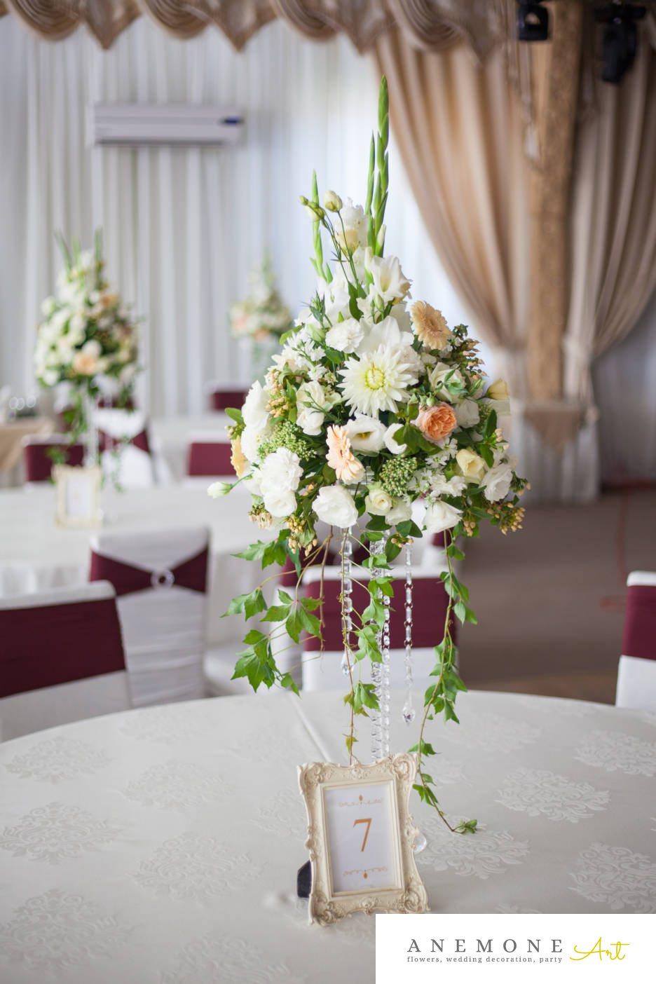 Poza, foto cu Flori de nunta decor masa, tabiet events arad in Arad, Timisoara, Oradea (wedding flowers, bouquets) nunta Arad